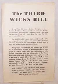 The third Wicks Bill