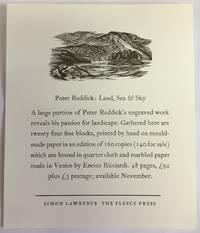 Peter Reddick: Land, Sea & Sky PROSPECTUS ONLY
