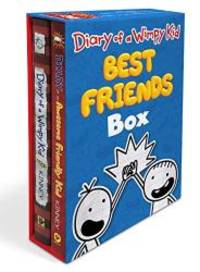 image of Diary of a Wimpy Kid: Best Friends Box (Diary of a Wimpy Kid Book 1 and Diary of an Awesome Friendly Kid)