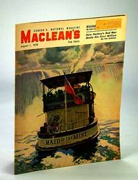 Maclean's - Canada's National Magazine, 1 August (Aug.), 1950 - Red Dutton / Joe Palooka / Rev. Lester Burry