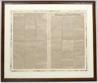 "Amendments to the Constitution"" in Gazette of the United States [The Bill of Rights]"