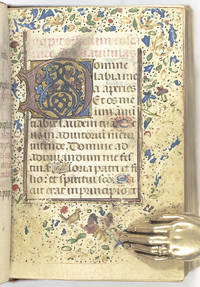 Fifteenth Century Illuminated Miniature Book of Hours.