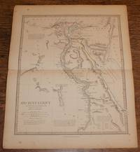 "Map of Ancient Egypt - disbound sheet from 1857 ""University Atlas"