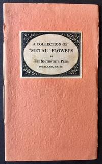 """A Collection of """"Metal"""" Flowers by the Southworth Press"""