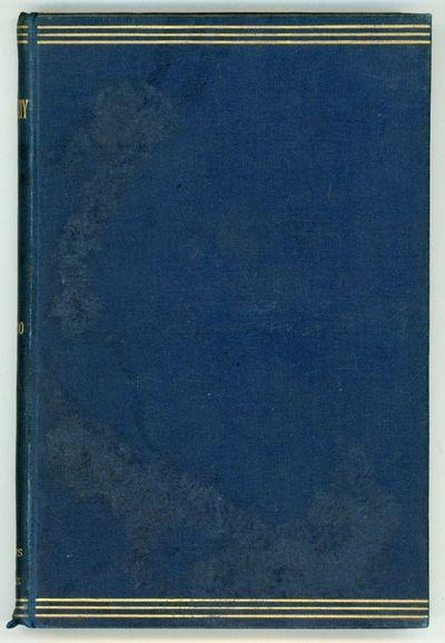 London, Edinburgh, Oxford: Williams and Norgate, 1897. Octavo, pp. 2-171 , original blue cloth, fron...