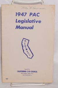 1947 PAC legislative manual