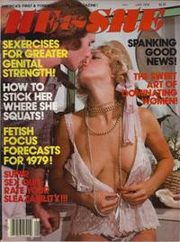 """He & She Men's Magazine """"Naughty Marrietta"""" """"Lezzie X-mass Tree"""" Vol 5 No 1 January 1979 by He & She Pub - Paperback - 1979-01-01 - from Once Read Books (SKU: 323906)"""