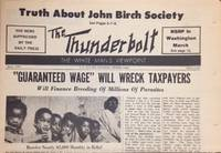 The thunderbolt: the white man's viewpoint; May, 1970, issue #125. The news suppressed by the daily press