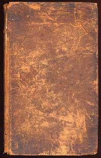 Boston: Manning & Loring, 1808. Hardcover. Good. First edition. Bookplate and bindery worn, good.