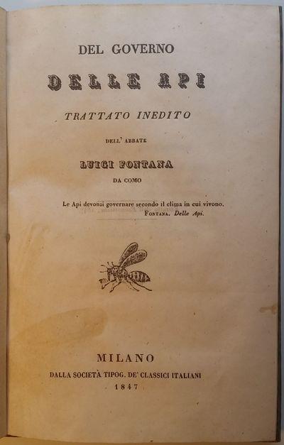 Milano: Dalla Società Tipog. De'Classici Italiani, 1847. 8vo. 190 x 130 mm. (7 ½ X 5 inches). 107,...