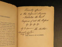 The Science of Gunnery, as applied to the use and construction of Fire arms. by  William GREENER - Signed First Edition - 1841 - from Schilb Antiquarian Rare Books (SKU: 7101)
