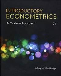 image of Introductory Econometrics: A Modern Approach, 7th
