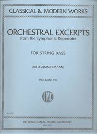 Orchestral Excerpts from the Symphonic Repertoire for String Bass, Volume VII 7