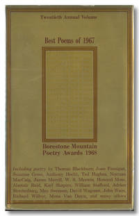 BEST POEMS OF 1967  BORESTONE MOUNTAIN POETRY AWARDS 1968 ..