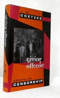 Giving Offense.  Essays on Censorship