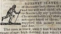 [NEWSPAPER; RUNAWAY SLAVE ADS] Louisville Journal , KY, March 4, 1840