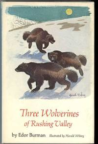 image of THREE WOLVERINES OF RUSHING VALLEY