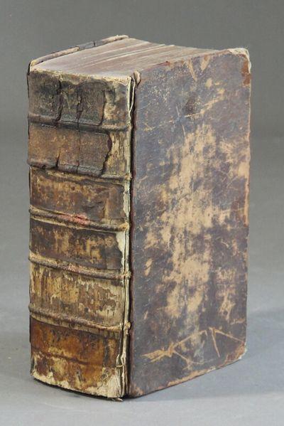 Frankfurt: Renard Eustache Moeller, 1744. Very thick 8vo, 2 parts in 1; pp. , 1062; 496; engraved fr...