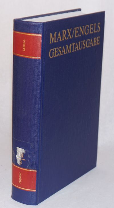 Berlin: Dietz Verlag, 1981. Hardcover. Pp.745-1535., elegant 9.5x6.5 inch hardbound in blue cloth bo...