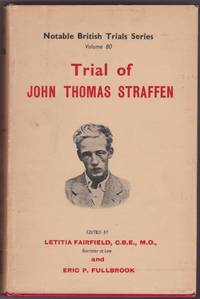 Trial of John Thomas Straffen