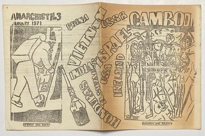 Sydney South, NSW: Sydney Anarchists, 1971. 16p., folded mimeographed sheets stapled together; cover...
