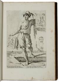 THE CRIES OF BOLOGNA  Di Bologna Arti Per Via D'Annibale Caracci Disegnate, intagliate, et offerte Al grande, et alto Nettuno Gigante.