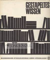 N.P.: Mannesmann-Stahlblechbau, 1966. paper-covered boards, dust jacket. Libraries. large 8vo. paper...