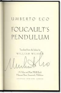 Foucault\'s Pendulum.