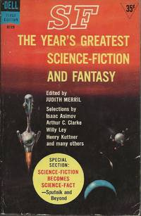 SF: The Year's Greatest Science-Fiction and Fantasy: Third Annual Volume