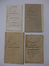 A set of 4 related works: (1) Letter From a Gentleman in Boston to a Unitarian Clergyman of that...