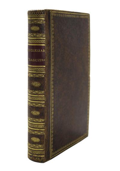 Libro de Jesus Hiio de Syrach, qu'es...