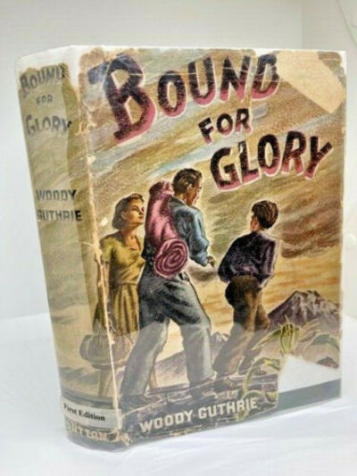1ST in dust jacket BOUND FOR GLORY...
