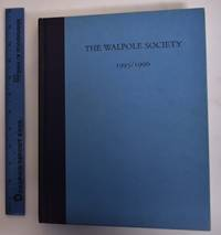 58th Annual Volume of the Walpole Society, 1995-96