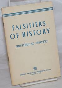 image of Falsifiers of history. (Historical survey)