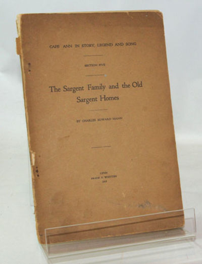 Lynn, Mass.: Frank S. Whiten, 1919. First Edition. Good in printed wraps over a stapled binding. An ...