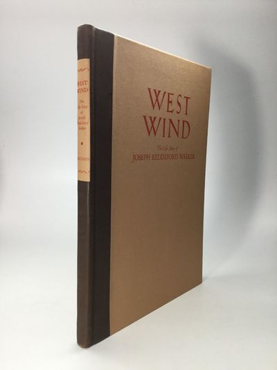 Los Angeles: Percy H. Booth, 1934. First Edition. Hardcover. Fine. Limited to 100 copies, and signed...