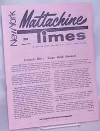 New York Mattachine Times: January 1971