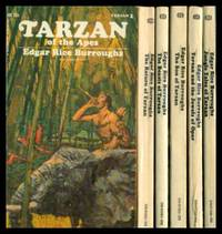 image of TARZAN OF THE APES - The First Six: Tarzan of the Apes; The Return of Tarzan; The Beasts of Tarzan; The Son of Tarzan; Tarzan and the Jewels of Opar; Jungle Tales of Tarzan