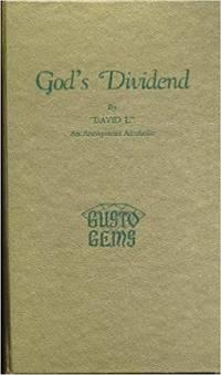 God's Dividend