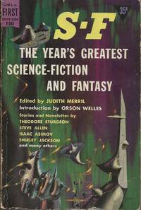 S-F: The Year's Greatest Science-Fiction and Fantasy