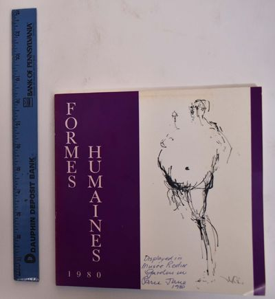 Paris: Formes Humaines, 1980. Softcover. Good+ (ink writing on front cover, very slight tanning to e...