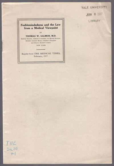 No place: No publisher, . 8vo (22.2 cm, 8.75
