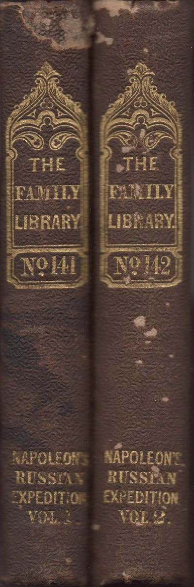 New York: Harper and Brothers, 1843. Hardcover. Fair. 12mo. 2 volumes. Volume I: , x, pages 9-318, ....