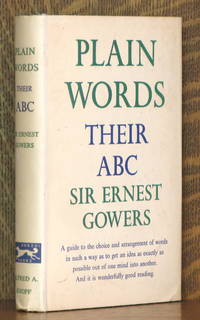 image of PLAIN WORDS: THEIR ABC