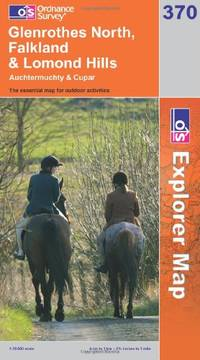 image of Glenrothes North, Falkland and Lomond Hills (OS Explorer Map Series) (OS Explorer Map Active)
