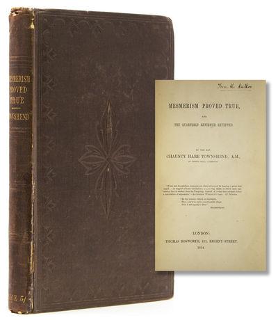 London: Thomas Bosworth, 1854. 216, pp. 8vo. Original brown cloth, front hinge split. 216, pp. 8vo. ...