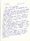 View Image 1 of 4 for Autograph Letter Signed, in English, 2 separate folio pp with a 3 separate page folio addendum, all ... Inventory #4407