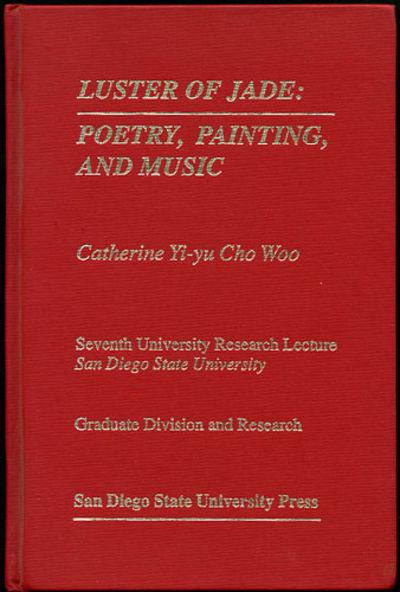 San Diego: San Diego State Univ. Press, 1992. First edition. Cloth. A fine copy.. v, 51 pp. + illus....