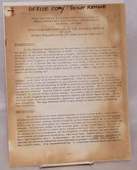 Position Paper to Accompany Resolution #16 - Implications of Feminism for the American Economic System submitted and prepared by the Boulder Chapter of NOW (Originally written for the 1973 NOW National Convention)