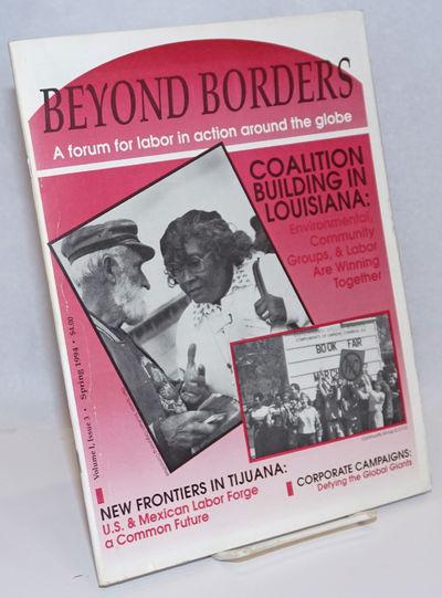 San Diego, CA: Beyond Borders, 1994. Magazine. 36p., stapled wraps, 8.5 x 11 inches, illus., wraps w...